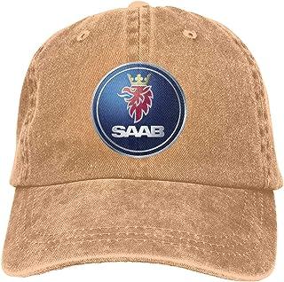 Men's Hats Apparel Accessories Saab Automobile Motor Flex Fit Hat Cap Baseball