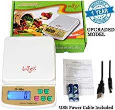 Bulfyss Advanced Electronic Kitchen Digital Weighing Scale With Capacity Upto 10 Kgs With USB Cable