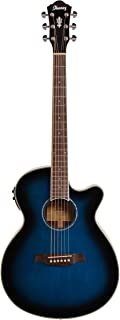 Ibanez AEG10II - Transparent Blue Sunburst