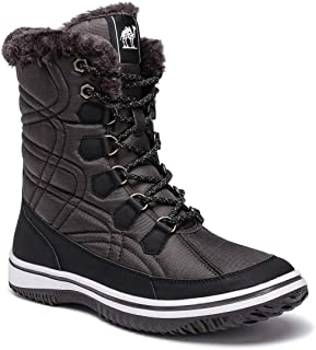 CAMEL Women's Winter Boots Thermal Snow Outdoor Mid Calf...