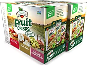 Brothers-ALL-Natural Fruit Crisps, Variety Pack, 4.44 Ounce Bag, 12 Count (Pack of 2)