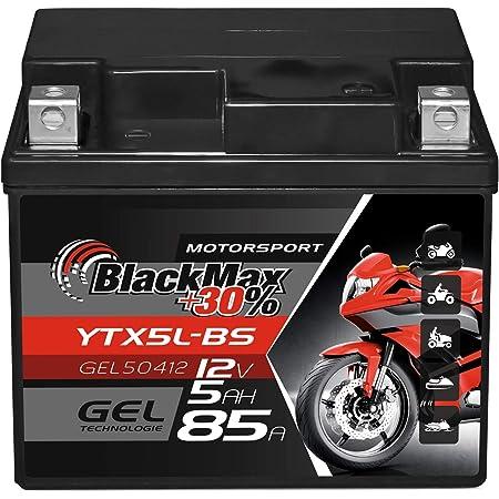 2extreme 12 Volt 5ah Batterie Wartungsfrei Inklusive 7 50 Batteriepfand Kompatibel Für Peugeot Jetforce 50 C Tech Auto