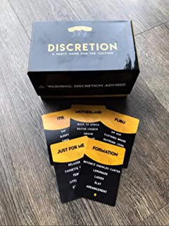 Discretion - A Party Game for The Culture