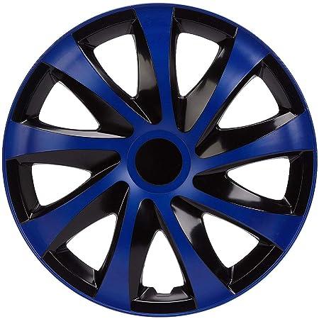 Radzierblende Drift Extra Blau Schwarz 14 Zoll 4er Set Auto