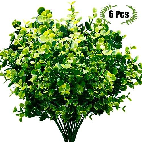 Home Decor Indoor Outdoor Artificial Plants Fake Flower Leaf Foliage Bush Home Decor Z