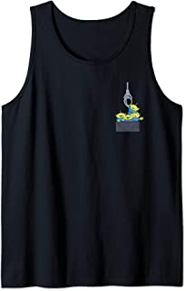 Pixar Toy Story Aliens Claw Machine Pocket Tank Top