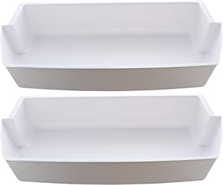 Kitchen Basics 101: 2-Pack Door Shelf Bins 2187172 Replacement for Frigidaire Whirlpool Kenmore Refrigerator PS328468