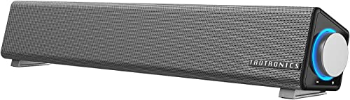 TaoTronics Computer Speakers, Wired Computer Sound Bar, Stereo USB Powered Mini Soundbar Speaker for PC Cellphone Tab...
