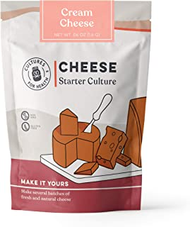 Cream Cheese Starter Culture | Cultures for Health | Delicous, tangy, homemade cream cheese, no maintenance, non-GMO