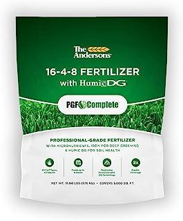 PGF كاملاً كامل کود 16-4-8 چمن زني با Humic DG (18 پوند)