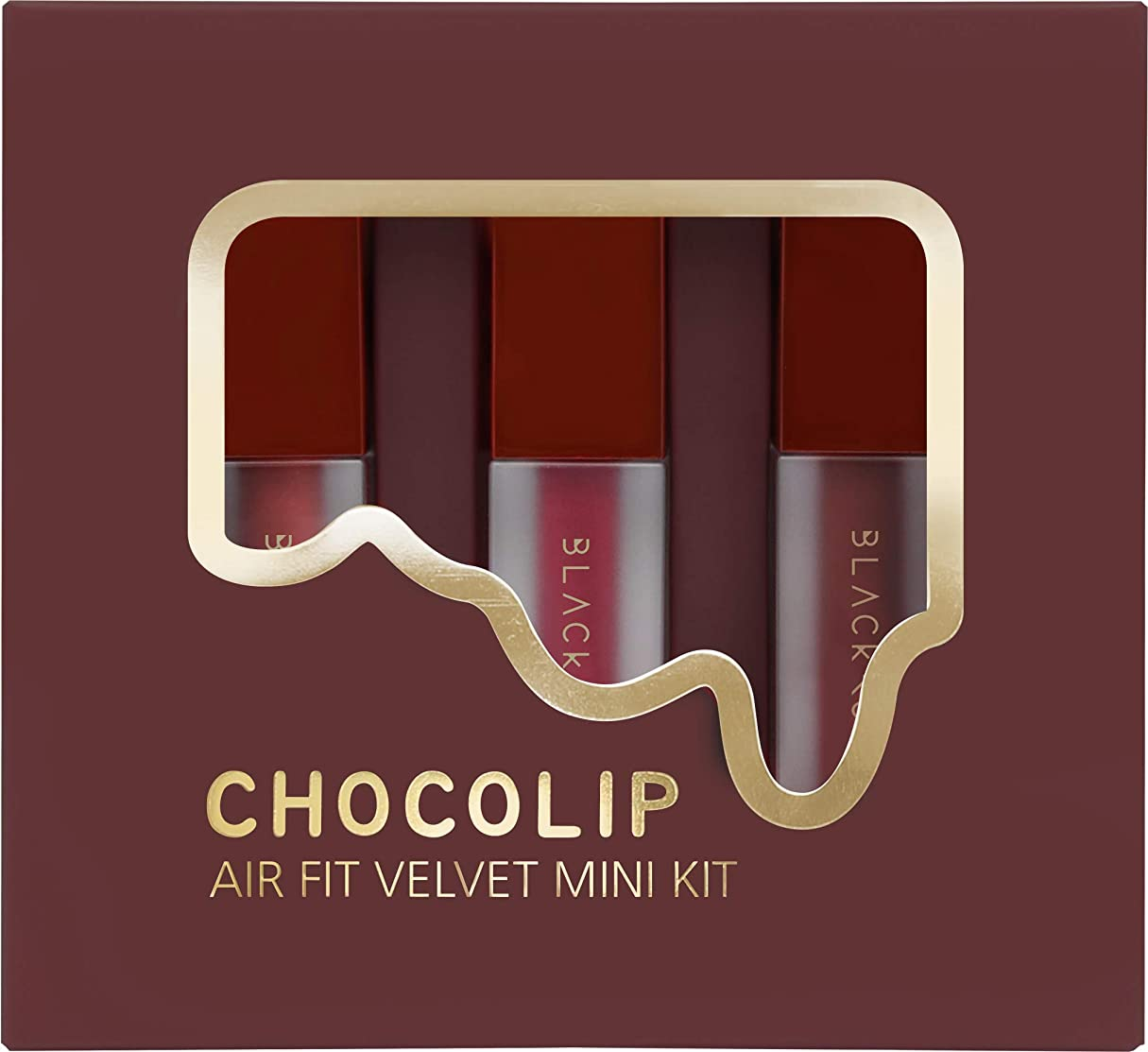 順応性追い付くアレンジBLACKROUGE AIR FIT VELVET MINI KIT - CHOCOLIP