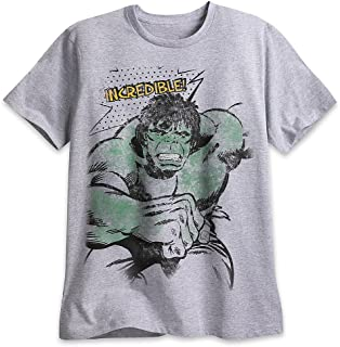 تي شيرت Marvel The Incredible Hulk للرجال رمادي