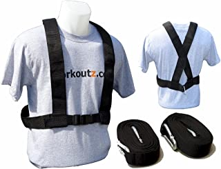 Workoutz Speed Harness for Power, Pulling, and Resistance Sports Training Equipment