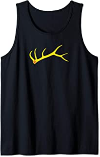 New Mexico Elk Shed Rack Horn Hunting Tank Top