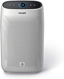 Philips 1000 Series AC1215 Air Purifier, VitaShield IPS & NanoProtect Pro Filter, Night Sensing mode,Touch UI, White & 1.8...