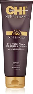 CHI Deep Brilliance Olive & Monoi Deep Protein Masque Strengthening Treatment 237ml/8oz