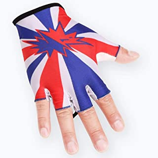 Half-finger Cycling Fitness Gloves Sports Outdoor Rock Climbing Weight Training Comfortable Breathable Fitness Fishing Sun...