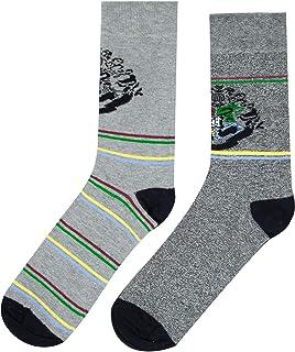 Harry Potter, Official Harry Potter Crest Men's 2 pack Socks