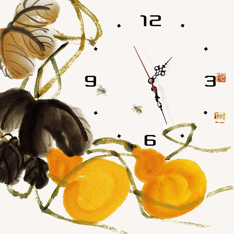 bienvenido a orden A Moderno minimalista sin marco pintar los relojes de de de parojo La pintura creativa un reloj de arte sala de estar aprendiendo decoración de dormitorio pintura ( Tamao   4040 cm )  barato y de moda