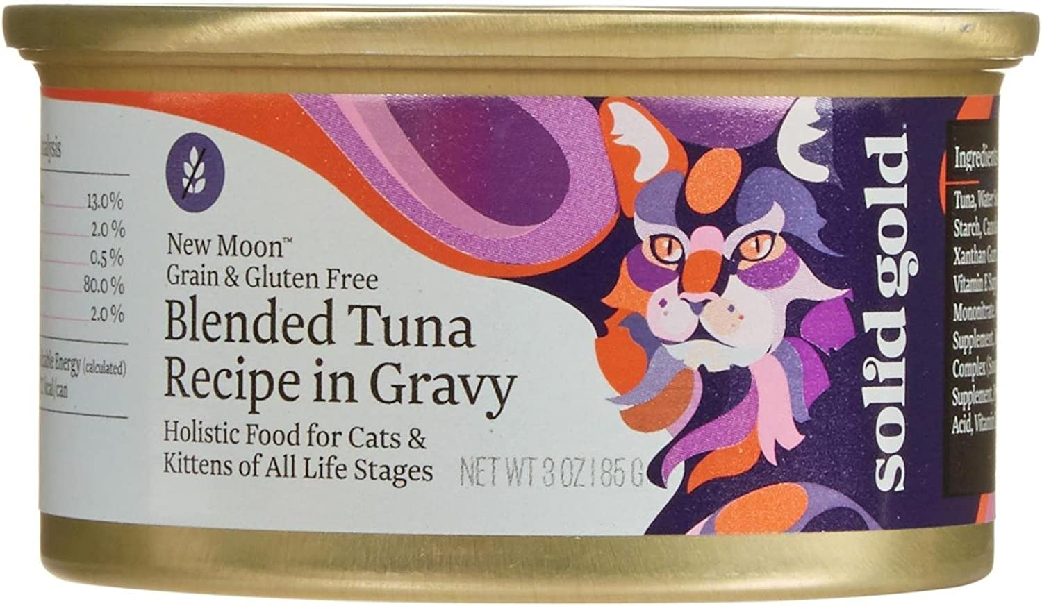 Solid Gold New Moon Holistic Wet Tuna I Blended Discount is also underway Food Cat Recipe OFFer