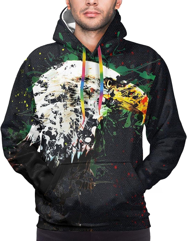 Hoodie For Teens Boys Girls American Eagle Forest Double-Sided 3d Sweatshirt Hoodie