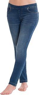 PajamaJeans Women's Skinny Stretch Knit Denim Juniors Jeans, Sizes XXS/XS