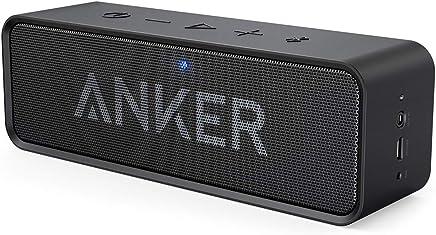 Anker Altoparlante Bluetooth SoundCore - Speaker Portatile Senza Fili con Microfono Incorporato e Doppia Cassa, Audio di Alta Qualità e Autonomia di 24 Ore. Per iphone X/8/8 Plus, iPad, Samsung e Altri