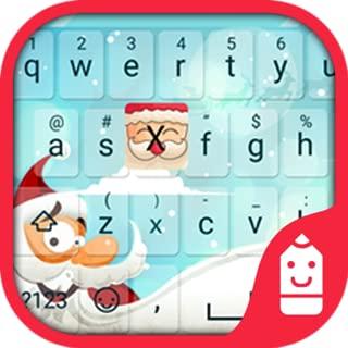 Santa Claus Theme&Emoji Keyboard