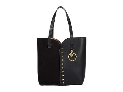 See by Chloe Gaia Carry-All Tote (Black) Handbags
