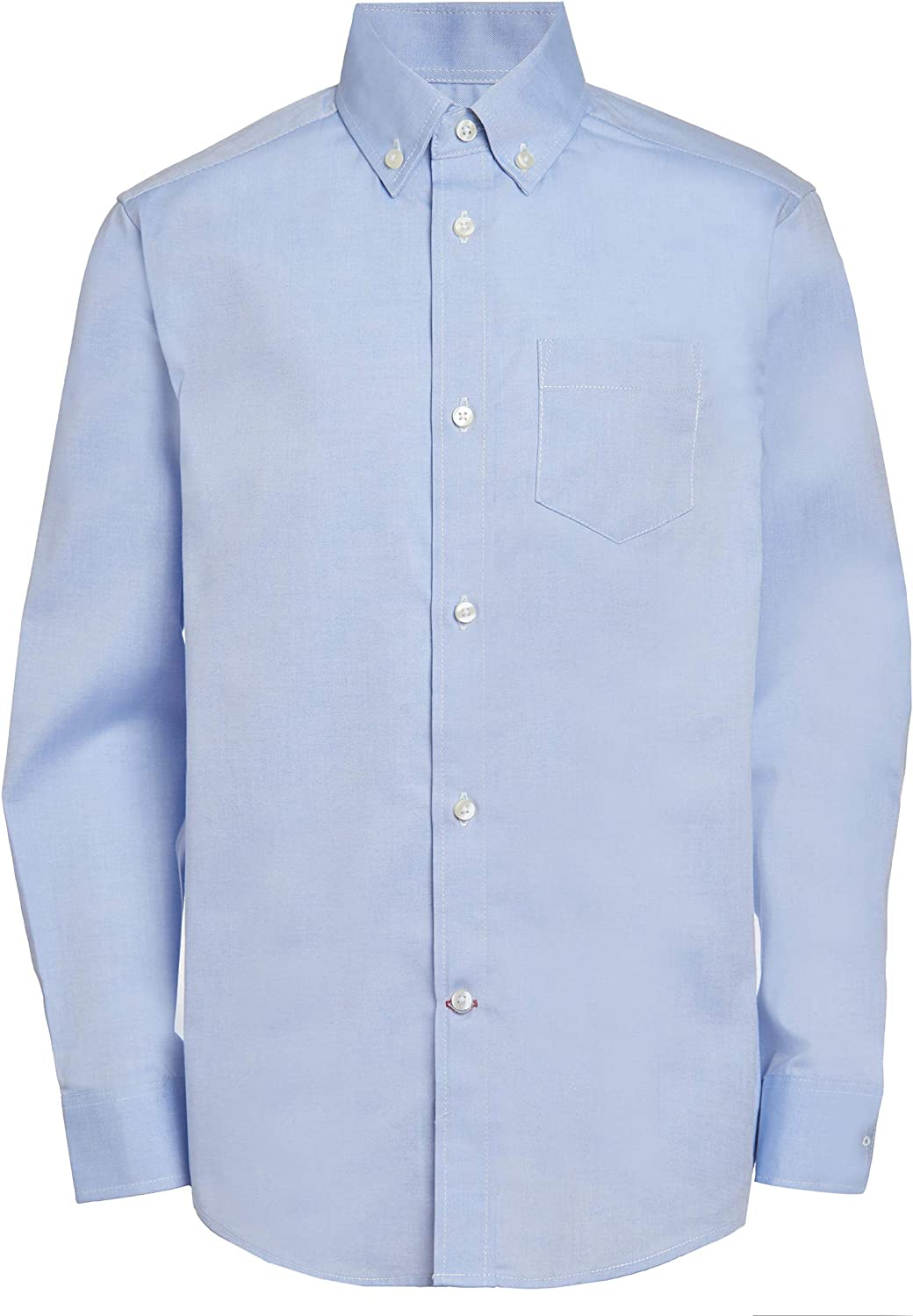Tommy Hilfiger San Antonio Mall Boys Oxford Long Max 75% OFF Shirt Collared Dress Sleeve But