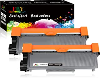 EBY Compatible Toner Cartridge Replacement for Brother TN630 TN-630 TN660 TN-660 HL-L2320D HL-L2380DW HL-L2340DW MFC-L2700DW MFC-L2720DW MFC-L2740DW MFC-L2707DW (Black, 2-Pack, High Yield)