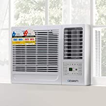 Devanti 4.1kW Window Wall Box Refrigerated Air Conditioner Conditioning 3-Speed Fan Cooler Remote Control Included
