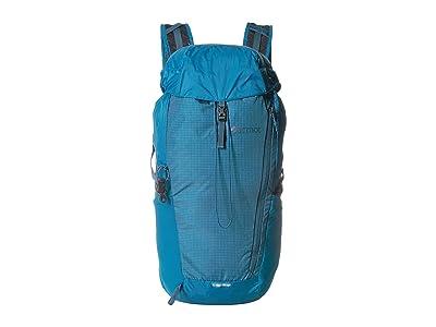 Marmot Kompressor Plus (Turkish Tile/Vintage Navy) Backpack Bags