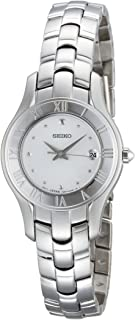 Seiko Women's SXDB71 Silver Tone Silver Dial Dress Watch