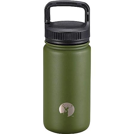 キャプテンスタッグ(CAPTAIN STAG) スポーツボトル 水筒 直飲み ダブルステンレスボトル 真空断熱 保温 保冷 HDカラビナボトル
