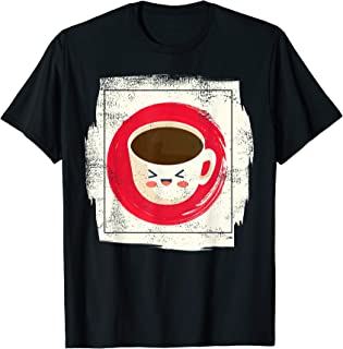 Vintage Japanese Kawaii Coffee Cute Anime Gift Shirt T-Shirt