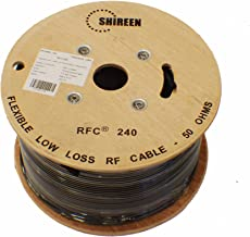 1000ft spool RFC240 Cable By Shireen Times Microwave 240 equivalent