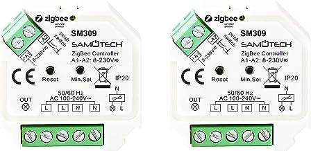 ZIGBEE AC ON/Off & DIMMER SWITCHES Compatibel met Philips HUE Bridge 2 x Zigbee Dimmer Schakelaars