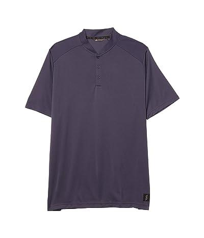 adidas Golf Adicross No Show Polo Shirt (Midnight Grey) Men