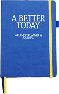 $21 » Sponsored Ad - A Better Today Wellness Planner and Journal - Best Weekly and Monthly Calendar for Happiness, Gratitude, an...