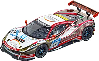 Carrera 27591 Ferrari 488 GT3 WTM Racing #22 Evolution Analog Slot Car Racing Vehicle 1:32 Scale
