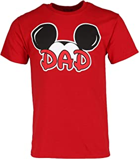 Mickey Mouse Dad Fan T Shirt