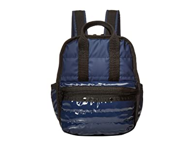 LeSportsac Gabrielle Micro Backpack (Navy Patent) Backpack Bags