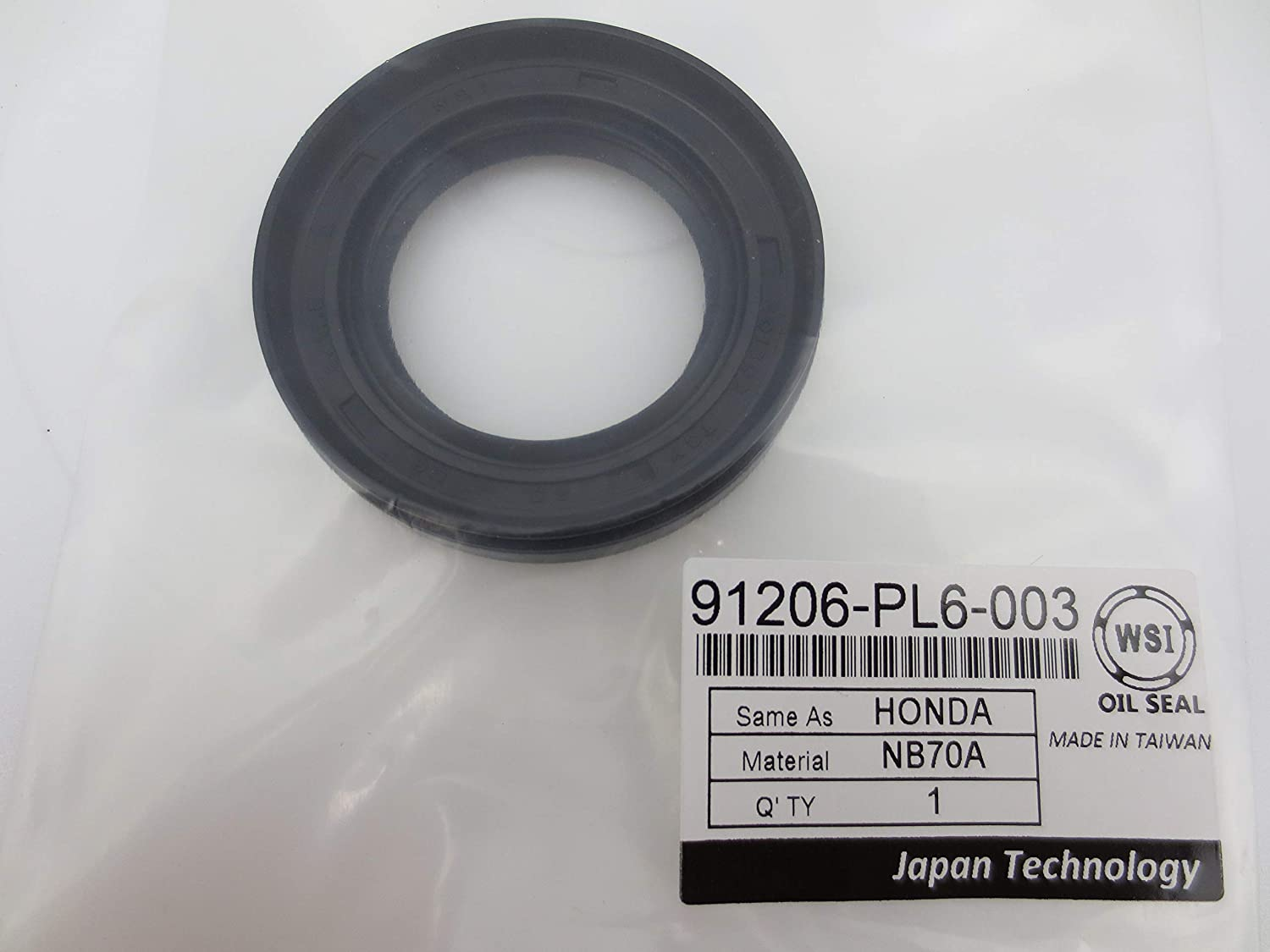 WSI 2021new shipping free 91206-PL6-003 Oil Seal For Honda Front for Drive Shaft Spring new work