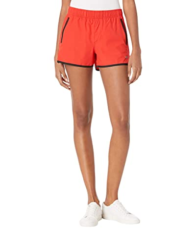 RVCA Yogger Stretch Shorts (Flame Red) Women