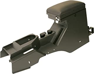 Tuffy 157-08 Security Console-with Electronics Mounting Bracket & 12V Power, Dark Slate for 2007-2010 Jk Wrangler