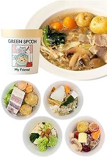 GREEN SPOON(グリーンスプーン) 野菜スープ 4食 (カップ) ゴロゴロ野菜 無添加 時短ごはん ギフト