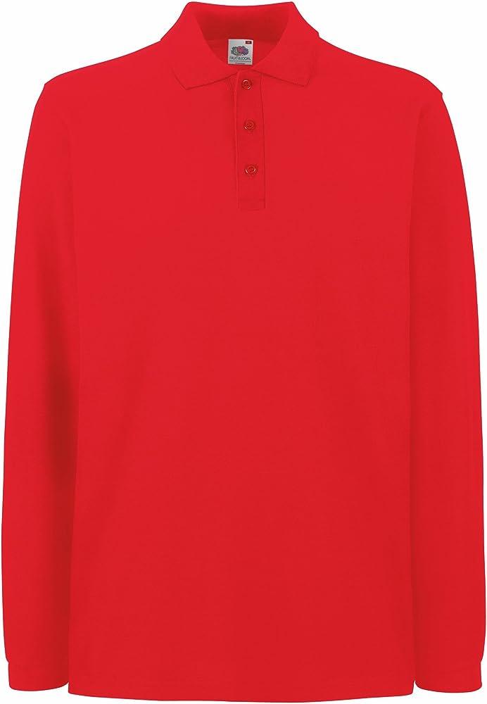 Fruit of the loom, maglietta per uomo,100% cotone UTBC1383_43