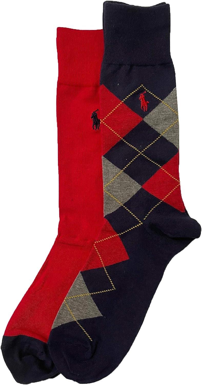 Polo Ralph Lauren Men's Argyle Socks 2-Pack Size 10-13