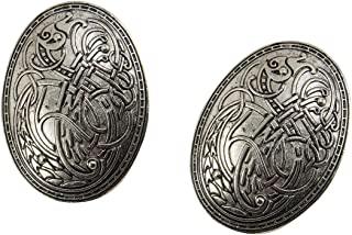Viking Turtle Brooches Norse Dress Apron Pins